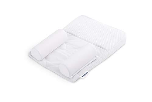 Doomoo Basics – Positionneur de Sommeil pour Bébé Supreme Sleep Small – Coussin Anti Tête Plate et...