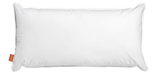sleepling 190112 Oreiller d'eau, Coton 50 x 70 cm, Blanc