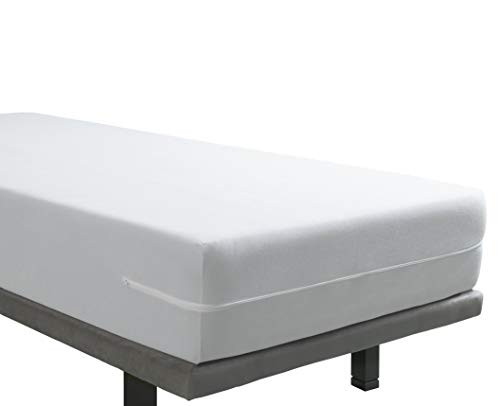 tural - Housse de Matelas élastique Éponge en Microfibre au Toucher de Soie. Taille Pack 2X 80 x...