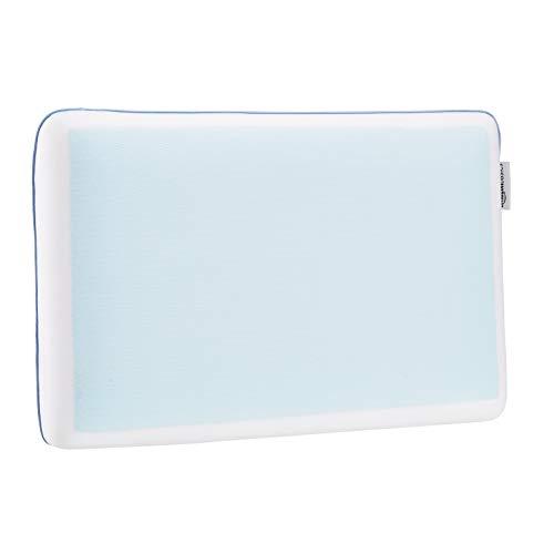 Amazon Basics Oreiller de refroidissement en mousse à mémoire de forme gel - 60 x 40 x 12 cm