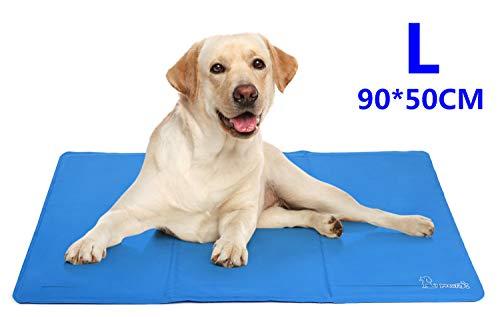 Tapis Rafraichissant Chien Pecute Plus Durable Mise à Niveau Tissu Oxford+PVC d'épaisseur 0.4mm Tapis...