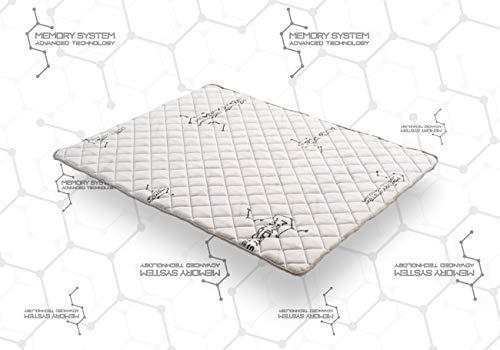 COSMOS | Topper System | SurMatelas 160x200 cm Viscoélastique | Mémoire De Forme V90 | Support HQ...