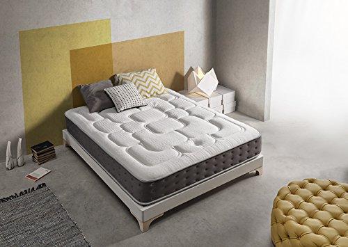 Living Sofa SIMPUR Relax | Matelas Epaisseur 30 cm Royal Top Visco-Graphene | 160x200 cm | Haut Niveau de...