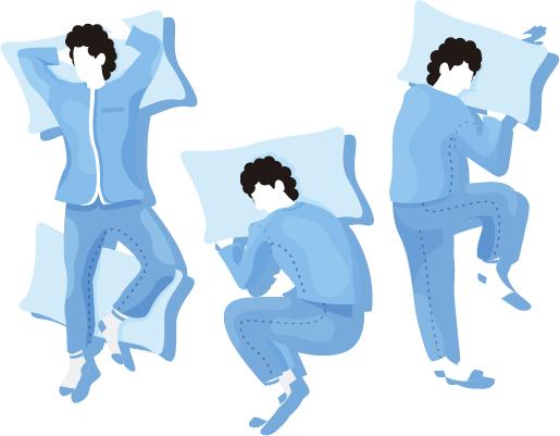meilleur oreiller selon position sommeil