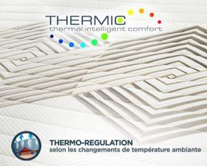 matelas thermo-regulation