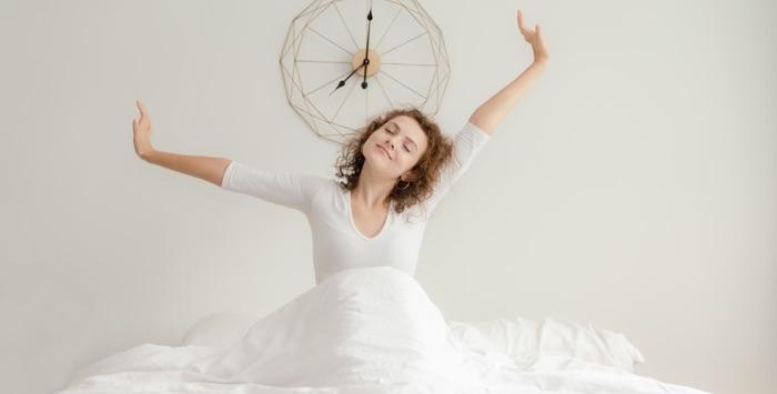 étirement réveil